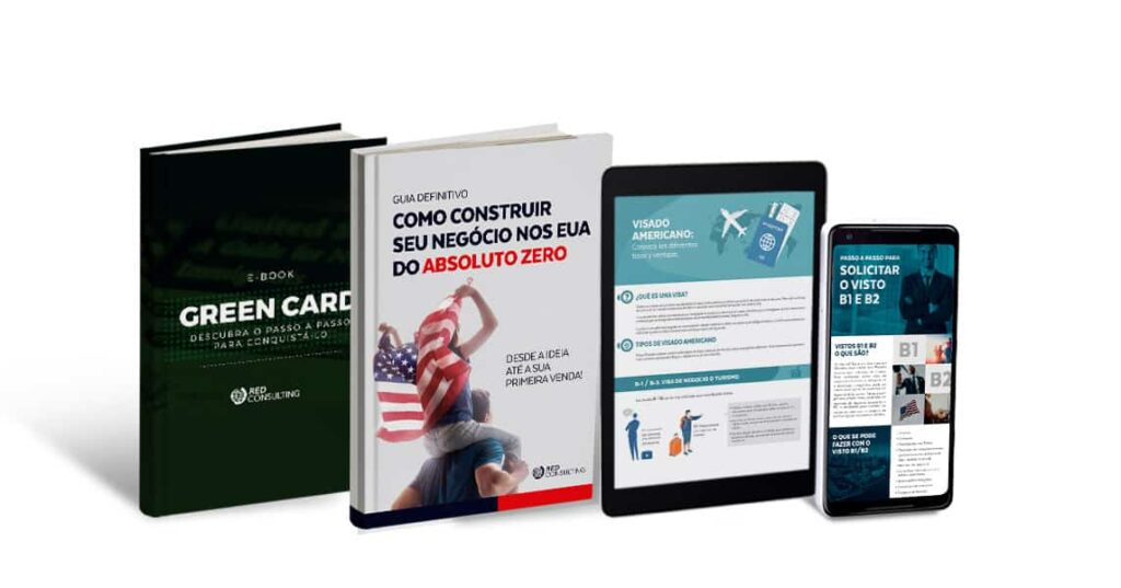 mockup red consulting case materiais